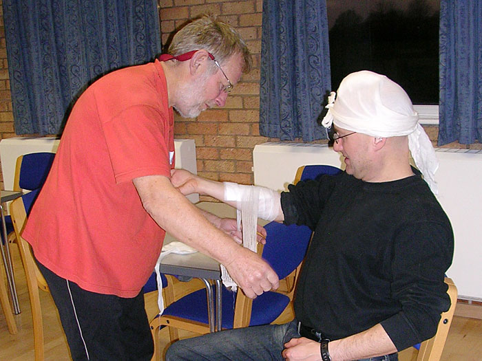 Indoor Practical - Treating Injuries