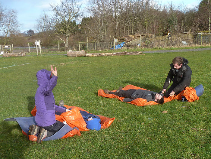 Outdoor First Aid, Feb. 2014