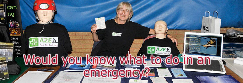 A2E First Aid Training