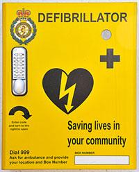 Defibrillator training courses
